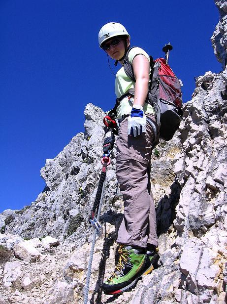 Foto: Andreas Koller / Klettersteig Tour / Friedberger Klettersteig und Steig auf die Rote Flüh (2111m) / 27.05.2009 01:10:13