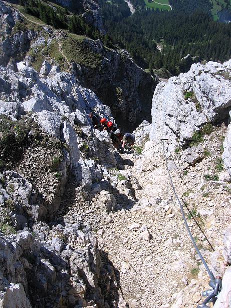 Foto: Andreas Koller / Klettersteig Tour / Friedberger Klettersteig und Steig auf die Rote Flüh (2111m) / 27.05.2009 01:09:59
