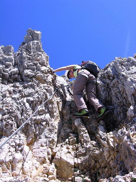 Foto: Andreas Koller / Klettersteig Tour / Friedberger Klettersteig und Steig auf die Rote Flüh (2111m) / 27.05.2009 01:09:50