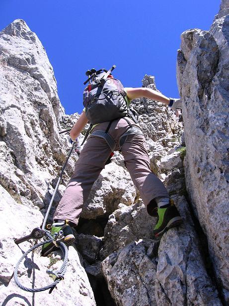 Foto: Andreas Koller / Klettersteig Tour / Friedberger Klettersteig und Steig auf die Rote Flüh (2111m) / 27.05.2009 01:09:37