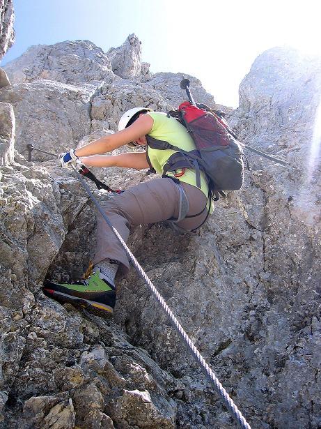 Foto: Andreas Koller / Klettersteig Tour / Friedberger Klettersteig und Steig auf die Rote Flüh (2111m) / 27.05.2009 01:08:45