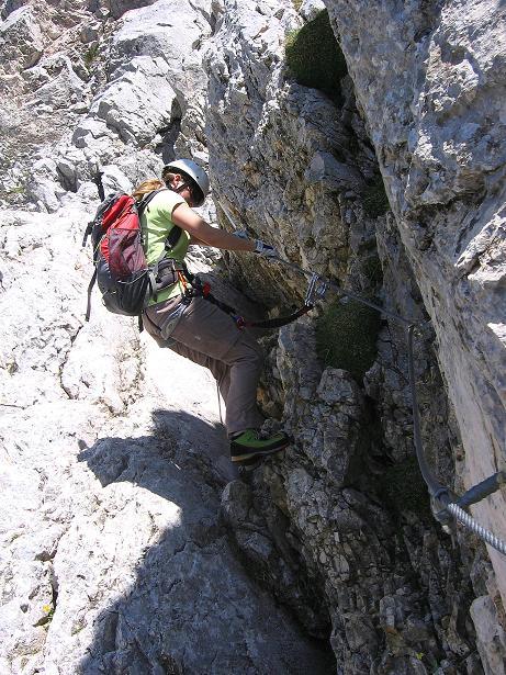 Foto: Andreas Koller / Klettersteig Tour / Friedberger Klettersteig und Steig auf die Rote Flüh (2111m) / 27.05.2009 01:08:36