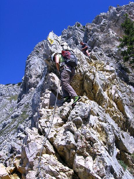 Foto: Andreas Koller / Klettersteig Tour / Friedberger Klettersteig und Steig auf die Rote Flüh (2111m) / 27.05.2009 01:07:05