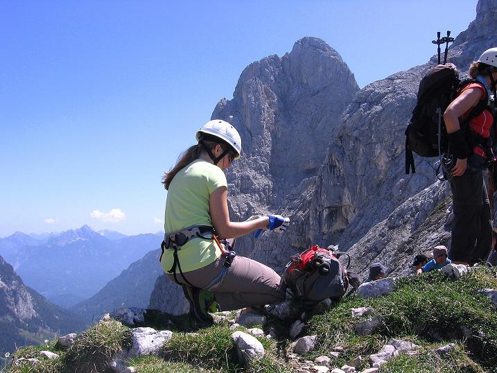 Foto: Andreas Koller / Klettersteig Tour / Friedberger Klettersteig und Steig auf die Rote Flüh (2111m) / 27.05.2009 01:05:10