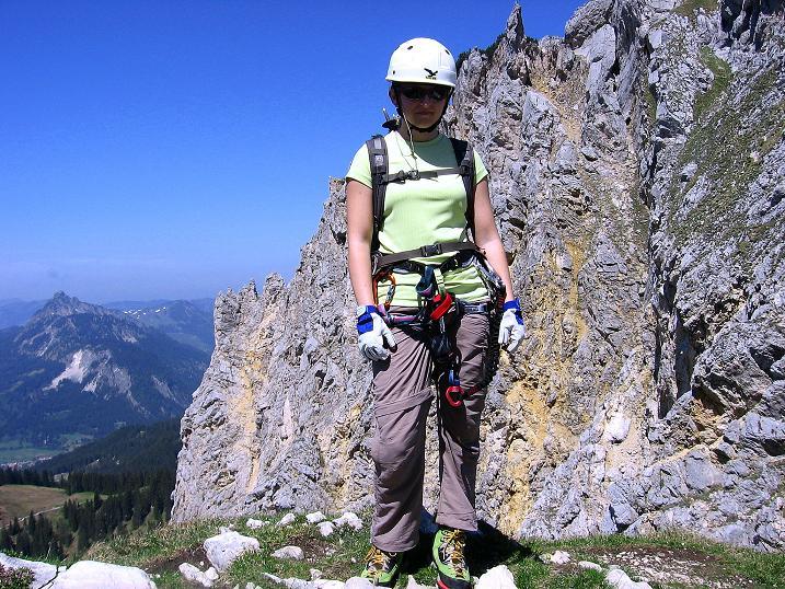 Foto: Andreas Koller / Klettersteig Tour / Friedberger Klettersteig und Steig auf die Rote Flüh (2111m) / 27.05.2009 01:03:27
