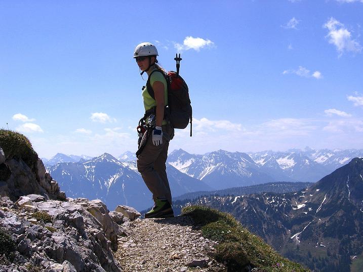 Foto: Andreas Koller / Klettersteig Tour / Friedberger Klettersteig und Steig auf die Rote Flüh (2111m) / 27.05.2009 01:02:58