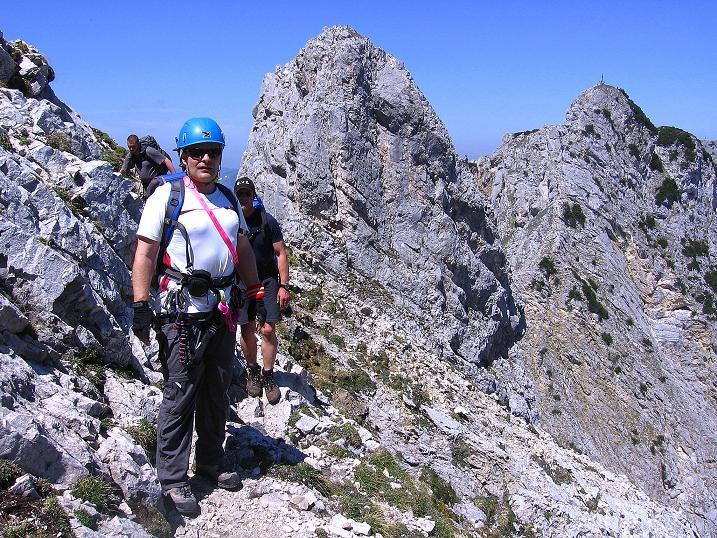 Foto: Andreas Koller / Klettersteig Tour / Friedberger Klettersteig und Steig auf die Rote Flüh (2111m) / 27.05.2009 01:02:39