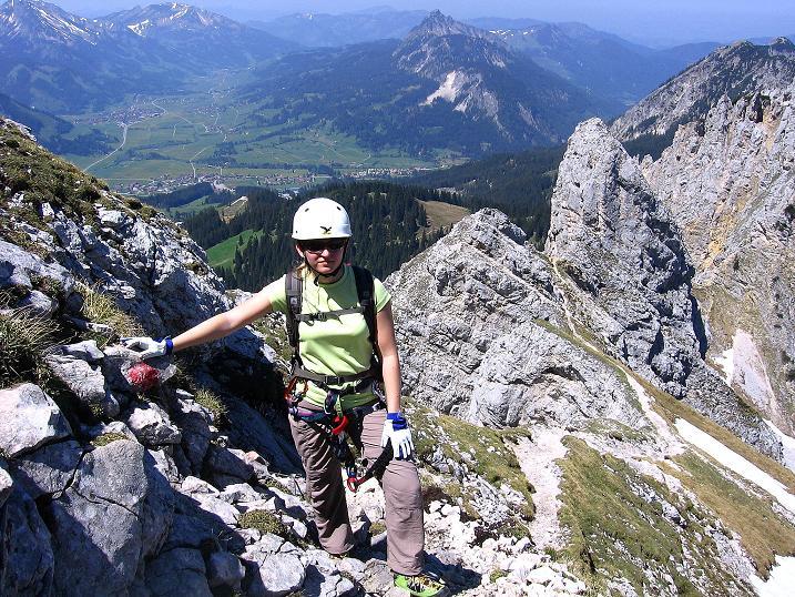 Foto: Andreas Koller / Klettersteig Tour / Friedberger Klettersteig und Steig auf die Rote Flüh (2111m) / 27.05.2009 01:02:28