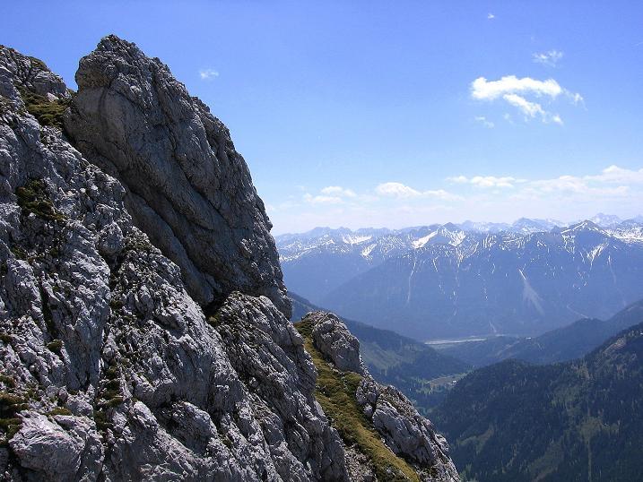 Foto: Andreas Koller / Klettersteig Tour / Friedberger Klettersteig und Steig auf die Rote Flüh (2111m) / 27.05.2009 01:01:40