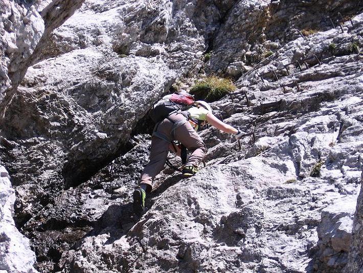 Foto: Andreas Koller / Klettersteig Tour / Friedberger Klettersteig und Steig auf die Rote Flüh (2111m) / 27.05.2009 01:01:02