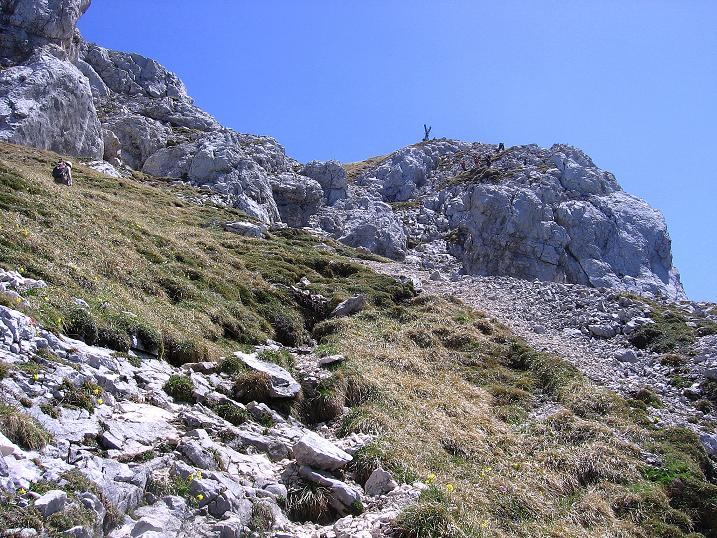 Foto: Andreas Koller / Klettersteig Tour / Friedberger Klettersteig und Steig auf die Rote Flüh (2111m) / 27.05.2009 00:59:24