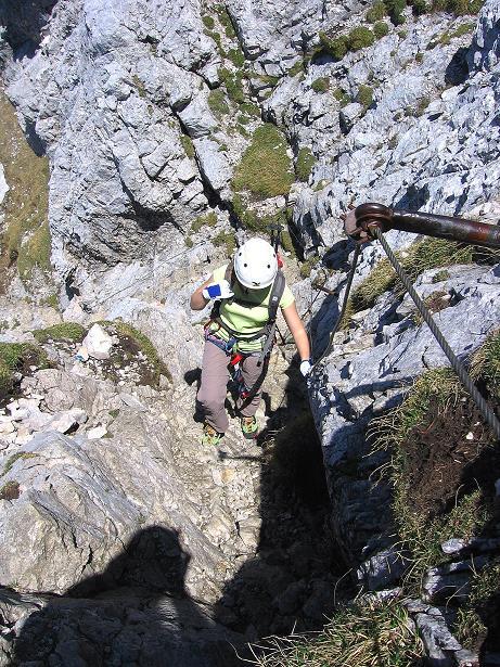 Foto: Andreas Koller / Klettersteig Tour / Friedberger Klettersteig und Steig auf die Rote Flüh (2111m) / 27.05.2009 00:59:15