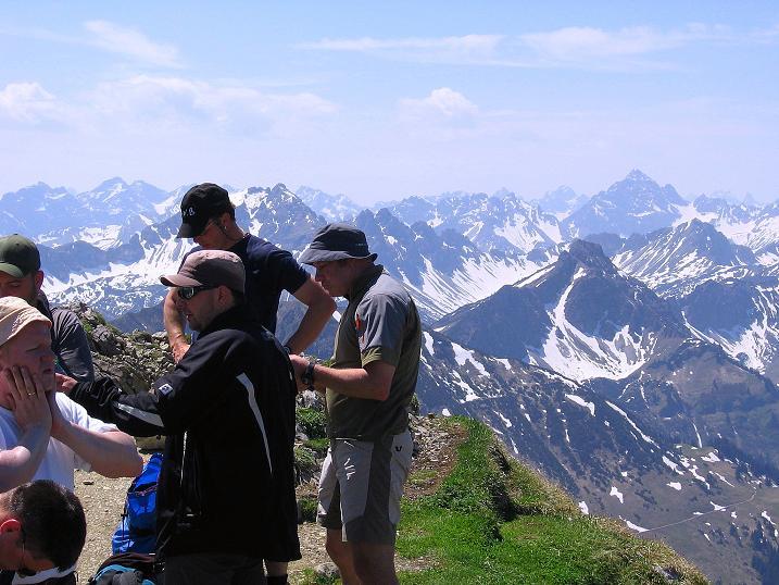 Foto: Andreas Koller / Klettersteig Tour / Friedberger Klettersteig und Steig auf die Rote Flüh (2111m) / 27.05.2009 00:58:15