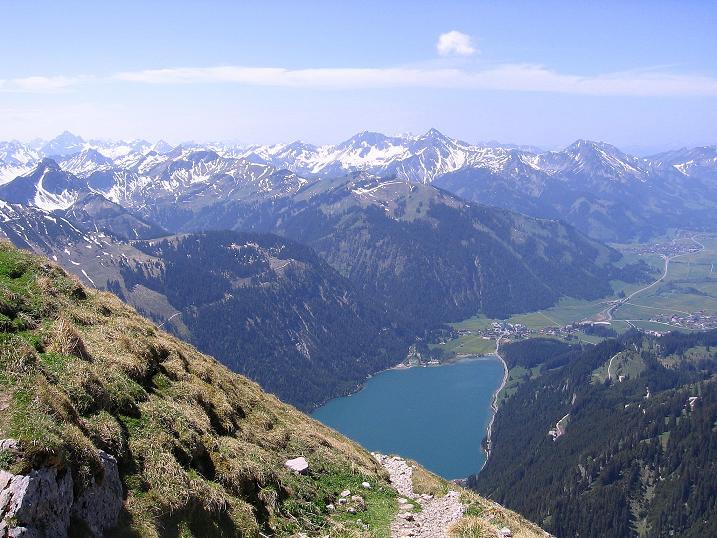Foto: Andreas Koller / Klettersteig Tour / Friedberger Klettersteig und Steig auf die Rote Flüh (2111m) / 27.05.2009 00:58:06