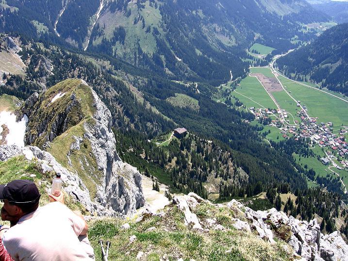 Foto: Andreas Koller / Klettersteig Tour / Friedberger Klettersteig und Steig auf die Rote Flüh (2111m) / 27.05.2009 00:57:44