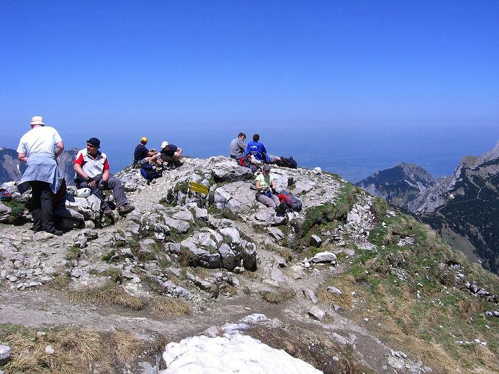 Foto: Andreas Koller / Klettersteig Tour / Friedberger Klettersteig und Steig auf die Rote Flüh (2111m) / 27.05.2009 00:57:27