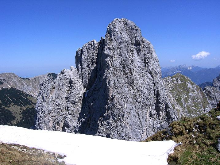 Foto: Andreas Koller / Klettersteig Tour / Friedberger Klettersteig und Steig auf die Rote Flüh (2111m) / Gimpel (2173 m) / 27.05.2009 00:57:16