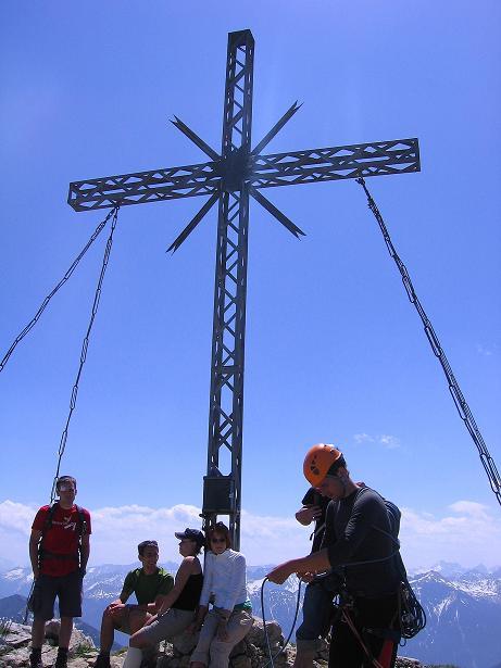 Foto: Andreas Koller / Klettersteig Tour / Friedberger Klettersteig und Steig auf die Rote Flüh (2111m) / 27.05.2009 00:56:39