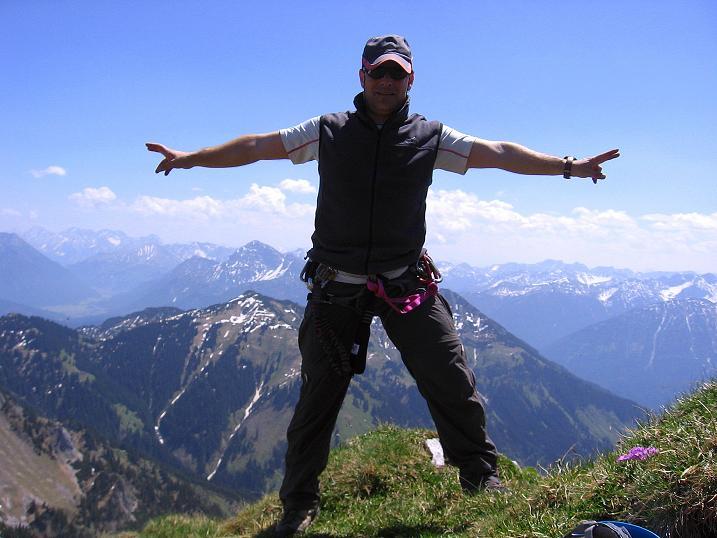Foto: Andreas Koller / Klettersteig Tour / Friedberger Klettersteig und Steig auf die Rote Flüh (2111m) / 27.05.2009 00:56:14