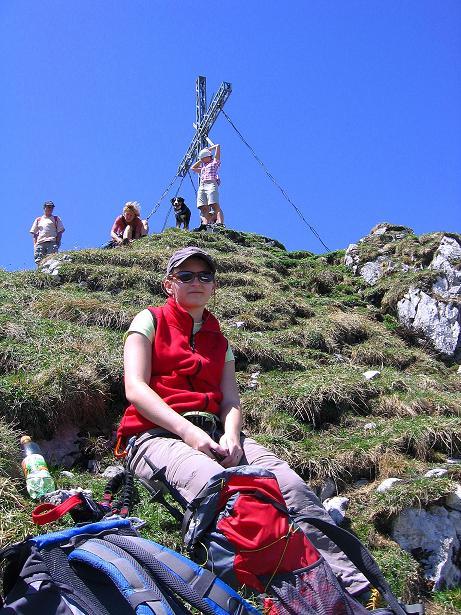 Foto: Andreas Koller / Klettersteig Tour / Friedberger Klettersteig und Steig auf die Rote Flüh (2111m) / 27.05.2009 00:56:07