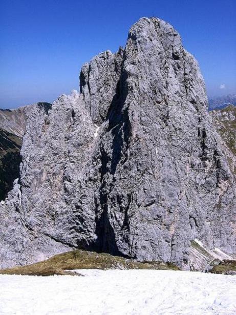 Foto: Andreas Koller / Klettersteig Tour / Friedberger Klettersteig und Steig auf die Rote Flüh (2111m) / Gimpel (2173 m) / 27.05.2009 00:55:26