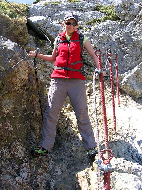 Foto: Andreas Koller / Klettersteig Tour / Friedberger Klettersteig und Steig auf die Rote Flüh (2111m) / 27.05.2009 00:52:59