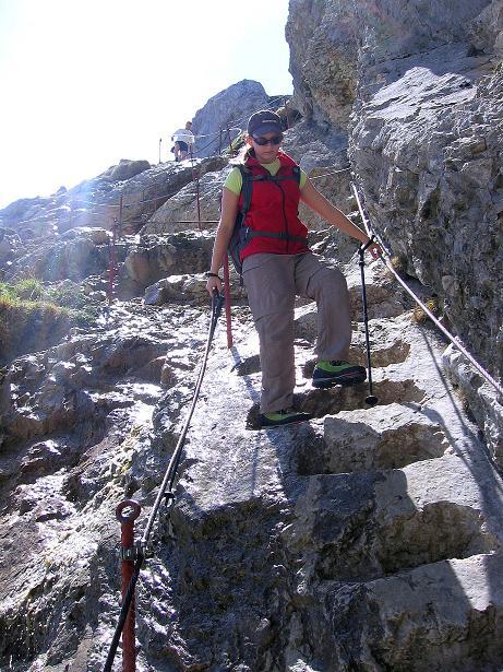 Foto: Andreas Koller / Klettersteig Tour / Friedberger Klettersteig und Steig auf die Rote Flüh (2111m) / 27.05.2009 00:52:50