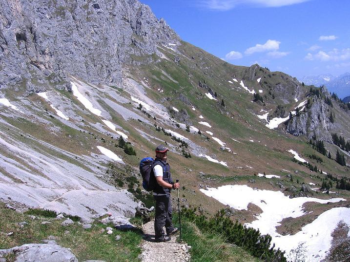 Foto: Andreas Koller / Klettersteig Tour / Friedberger Klettersteig und Steig auf die Rote Flüh (2111m) / 27.05.2009 00:52:38