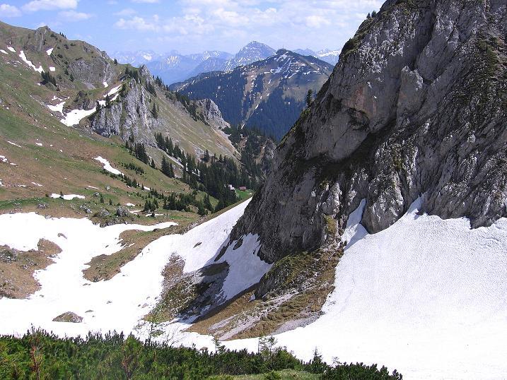 Foto: Andreas Koller / Klettersteig Tour / Friedberger Klettersteig und Steig auf die Rote Flüh (2111m) / 27.05.2009 00:52:30