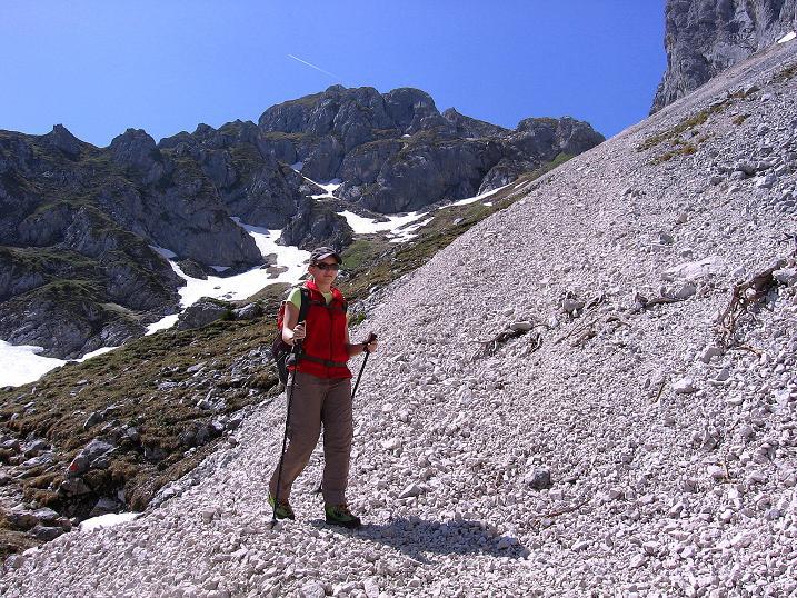 Foto: Andreas Koller / Klettersteig Tour / Friedberger Klettersteig und Steig auf die Rote Flüh (2111m) / 27.05.2009 00:52:22