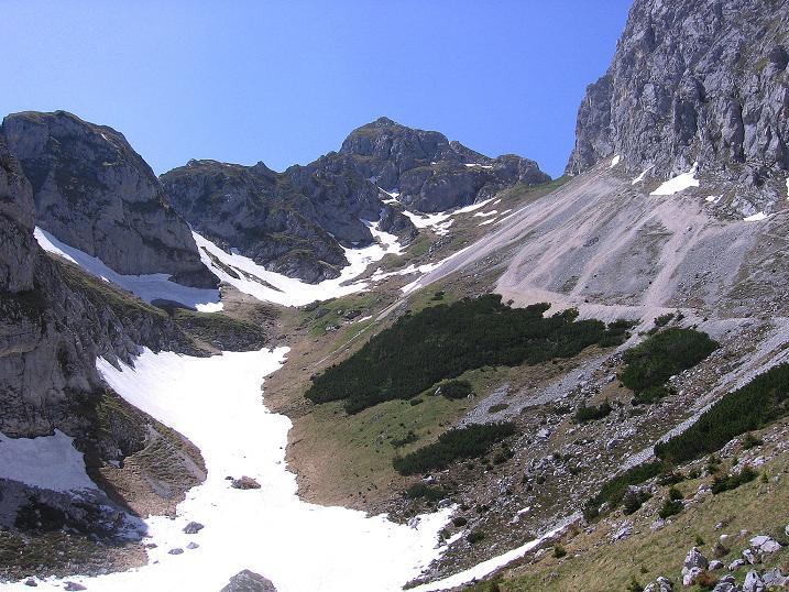 Foto: Andreas Koller / Klettersteig Tour / Friedberger Klettersteig und Steig auf die Rote Flüh (2111m) / Rückblick auf die Rote Flüh / 27.05.2009 00:52:11