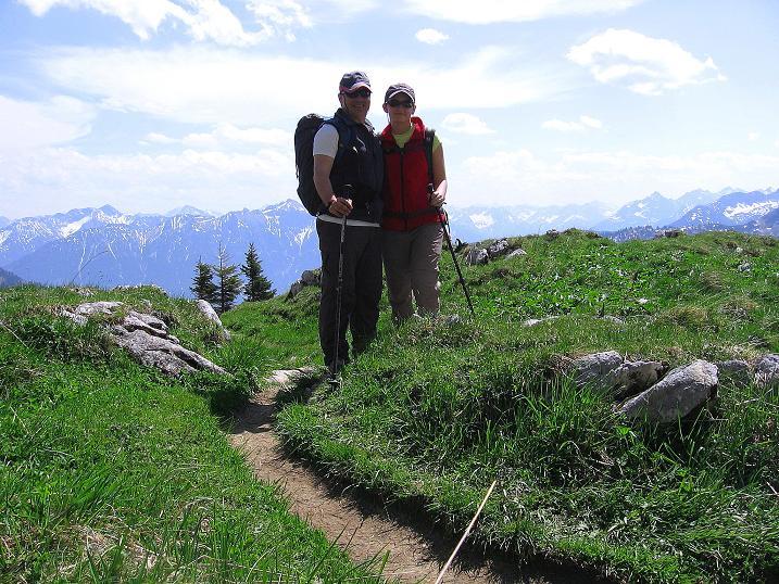Foto: Andreas Koller / Klettersteig Tour / Friedberger Klettersteig und Steig auf die Rote Flüh (2111m) / 27.05.2009 00:51:54