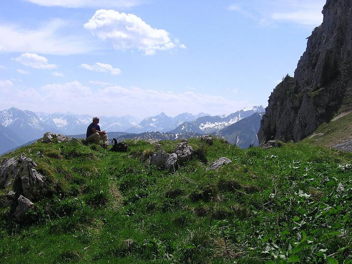 Foto: Andreas Koller / Klettersteig Tour / Friedberger Klettersteig und Steig auf die Rote Flüh (2111m) / 27.05.2009 00:51:46