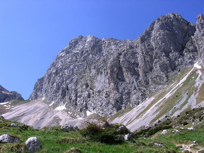 Foto: Andreas Koller / Klettersteig Tour / Friedberger Klettersteig und Steig auf die Rote Flüh (2111m) / Gimpel (2173 m) / 27.05.2009 00:51:37