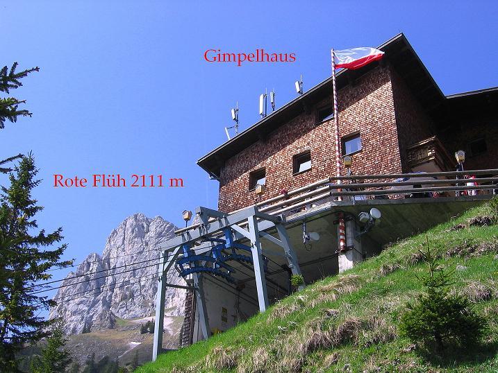 Foto: Andreas Koller / Klettersteig Tour / Friedberger Klettersteig und Steig auf die Rote Flüh (2111m) / 27.05.2009 00:50:53
