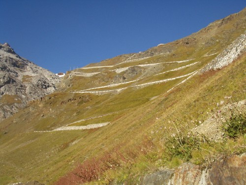 Foto: hofchri / Mountainbike Tour / Ortlerhaus (3028m) über Stilfser Joch (2758m) / 28.05.2009 22:00:29