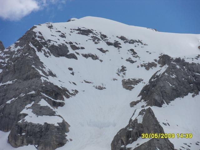 Foto: Ulf / Ski Tour / Marmolada Nordwestflanke / Verhältniss in der Nordwand / 01.06.2009 15:29:20