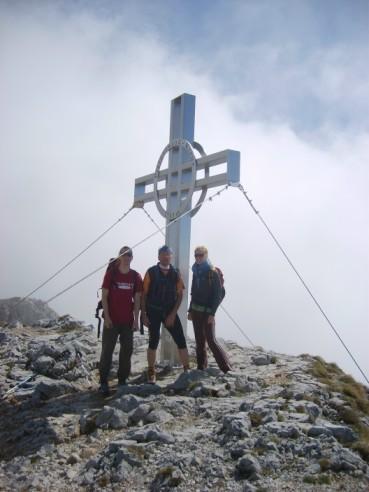 Foto: winsch / Klettersteig Tour / Haid Steig / Preiner Wand Gipfel / 02.06.2009 13:42:48