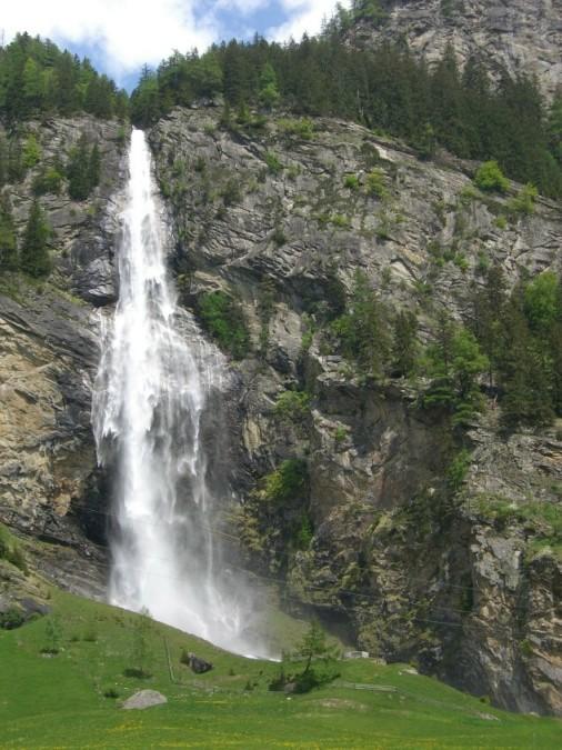 Foto: winsch / Klettersteig Tour / Fallbach Klettersteig / Fallbach Wasserfall / 02.06.2009 14:27:57