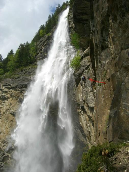 Foto: winsch / Klettersteig Tour / Fallbach Klettersteig / 02.06.2009 14:28:14