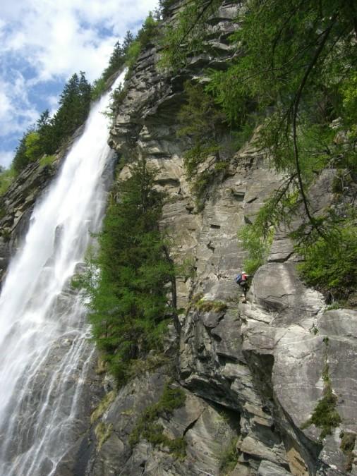 Foto: winsch / Klettersteig Tour / Fallbach Klettersteig / 02.06.2009 14:28:37