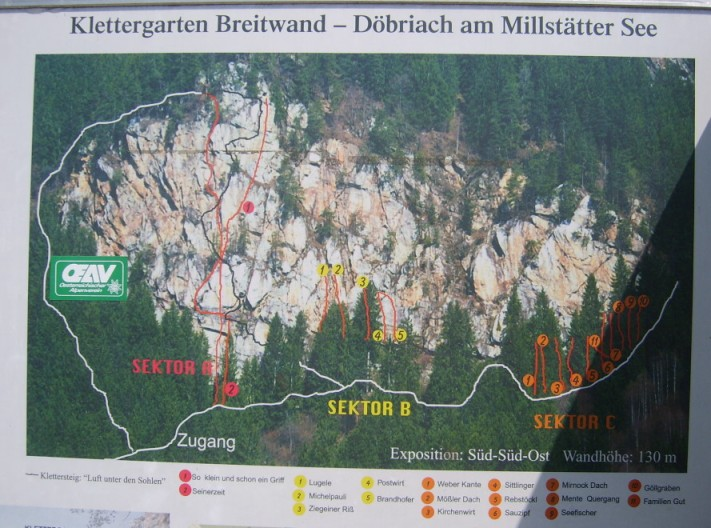 Foto: winsch / Klettersteig Tour / Luft unter den Sohlen / Übersichtstafel / 02.06.2009 14:47:56