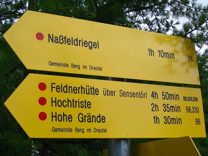 Foto: Andreas Koller / Wander Tour / Einsame Tour auf die Hochtristen (2536m) / 03.06.2009 21:48:20