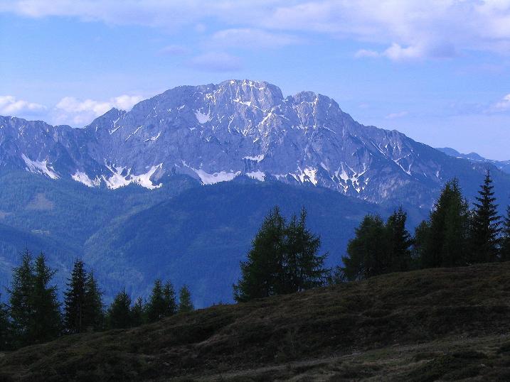 Foto: Andreas Koller / Wander Tour / Einsame Tour auf die Hochtristen (2536m) / Der Reißkofel (2371 m) / 03.06.2009 21:48:07