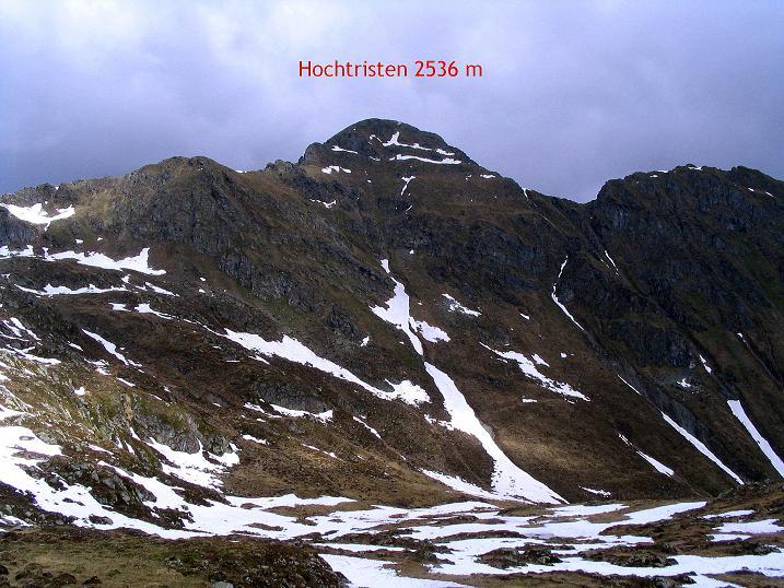 Foto: Andreas Koller / Wander Tour / Einsame Tour auf die Hochtristen (2536m) / 03.06.2009 21:42:31