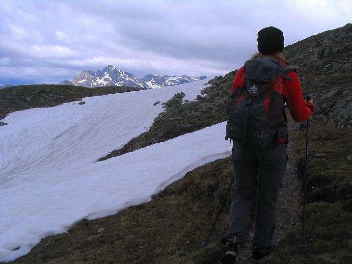 Foto: Andreas Koller / Wander Tour / Einsame Tour auf die Hochtristen (2536m) / 03.06.2009 21:41:14