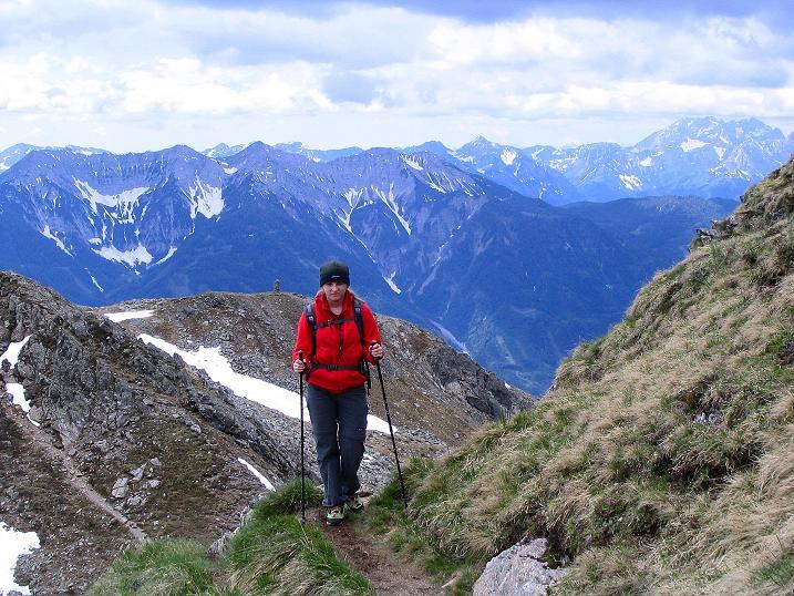 Foto: Andreas Koller / Wander Tour / Einsame Tour auf die Hochtristen (2536m) / 03.06.2009 21:40:35