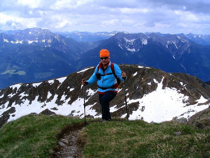 Foto: Andreas Koller / Wander Tour / Einsame Tour auf die Hochtristen (2536m) / 03.06.2009 21:40:18