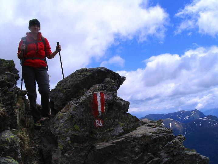 Foto: Andreas Koller / Wander Tour / Einsame Tour auf die Hochtristen (2536m) / 03.06.2009 21:39:55