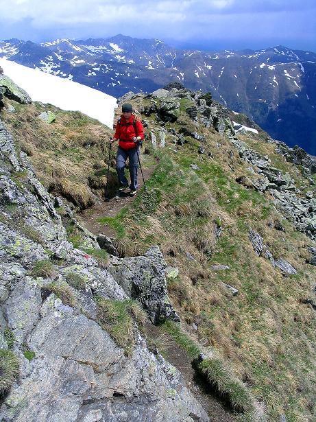 Foto: Andreas Koller / Wander Tour / Einsame Tour auf die Hochtristen (2536m) / Knapp unterhalb des Gipfels / 03.06.2009 21:38:51